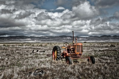 The Abandoned Tractor (2)