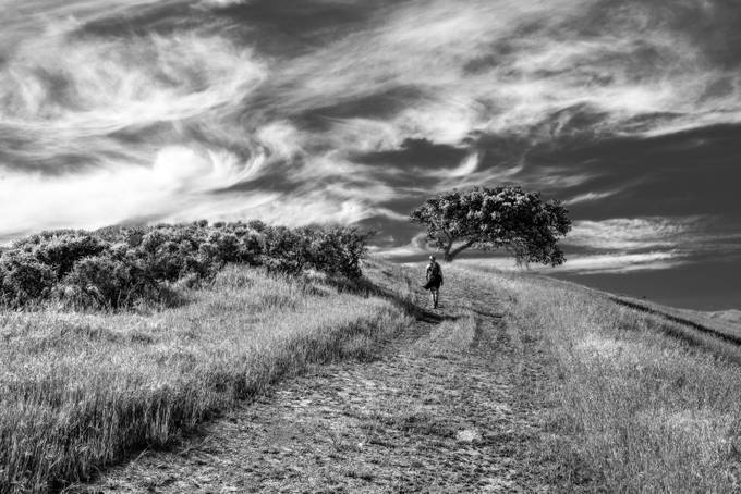 A hike to the top by markcote - Black And White Compositions Photo Contest