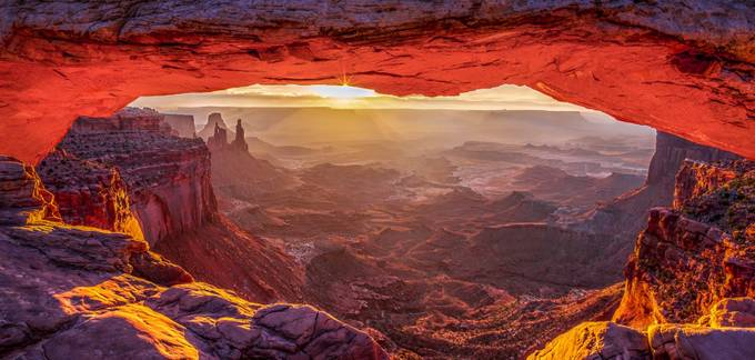 Mesa Arch Sunrise - Canyonlands National Park by jjraia - The Beauty Of Nature Photo Contest