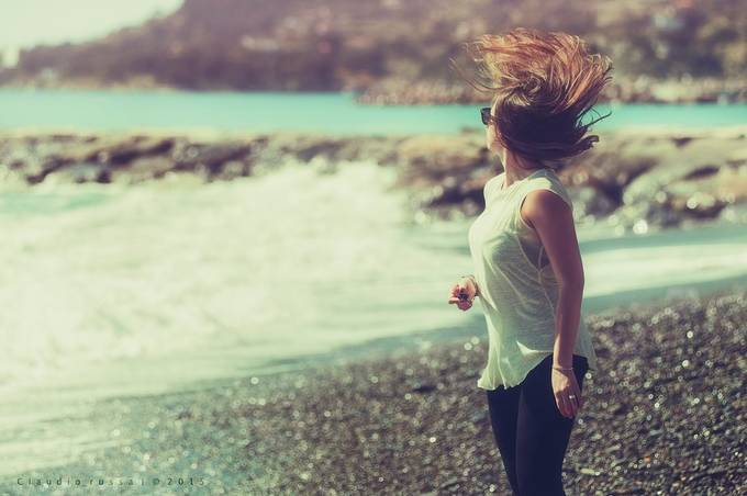 Hair Glow by claudiorussa - We Love The Summer Photo Contest