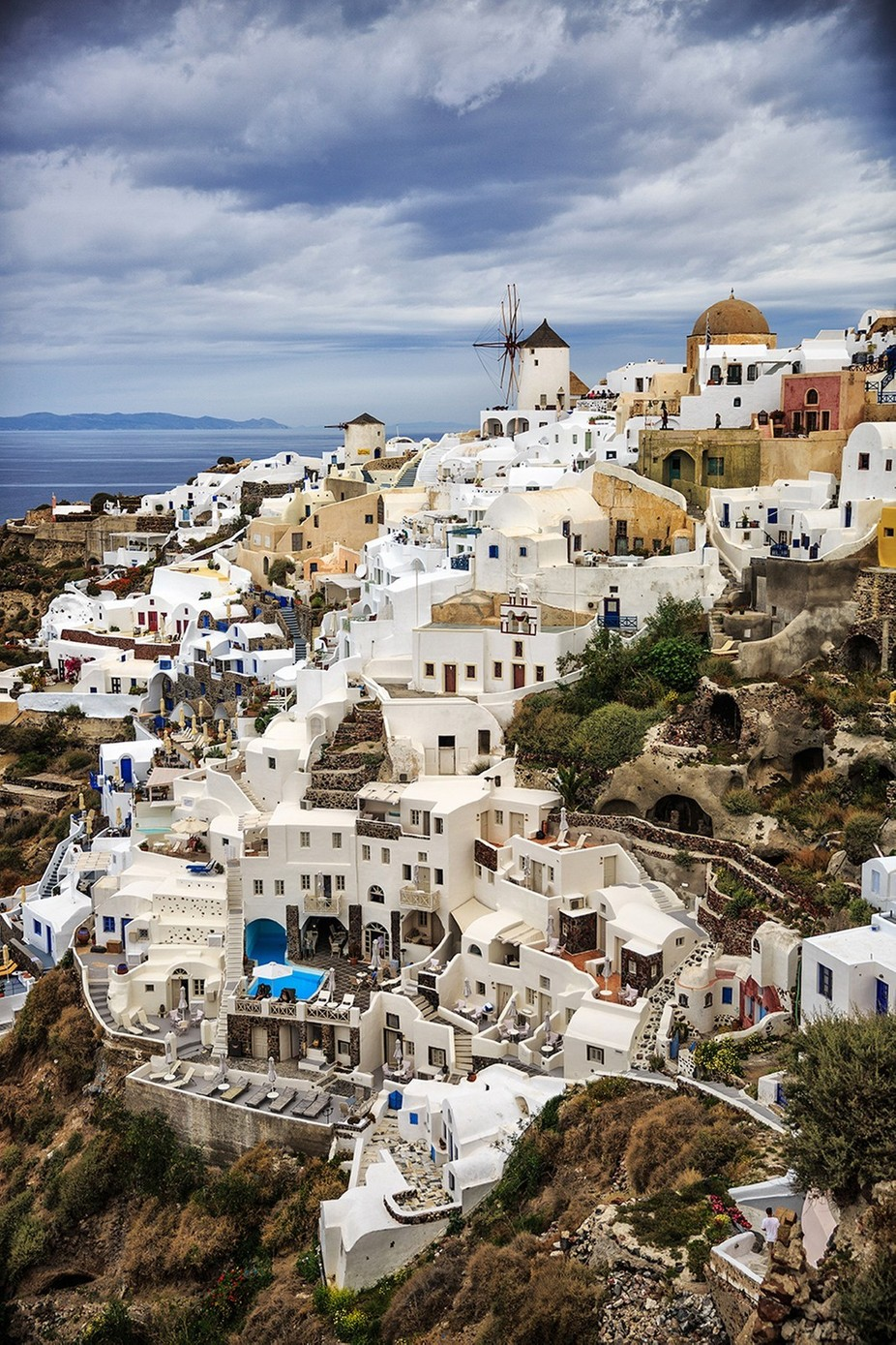 Beautiful Oia! by AnnSagel - Photogenic Villages Photo Contest