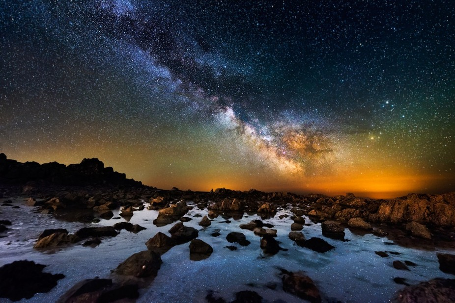 Green Island Milky Way