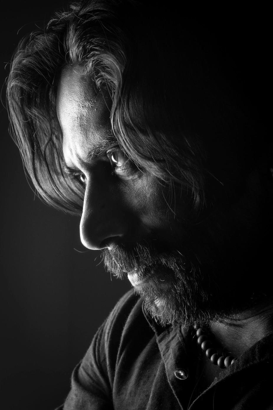 strange by riteshrc - Dark Portraits Photo Contest