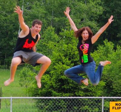 !&3 jumping