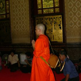 To become a Buddhist monk once in a lifetime is endeavoured by most Thai males - short period of 4 weeks up to several months.