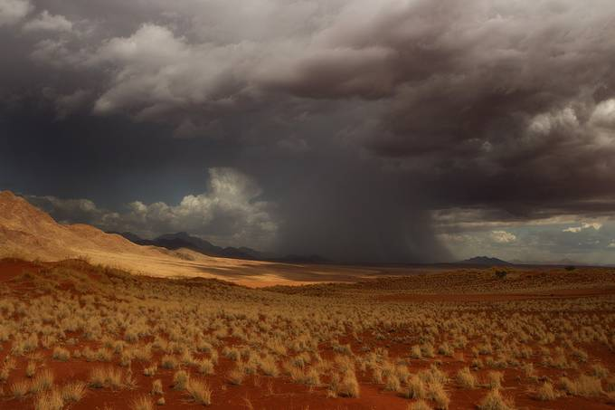 tempest over the desert by ircacaplikas - A Storm Is Coming Photo Contest