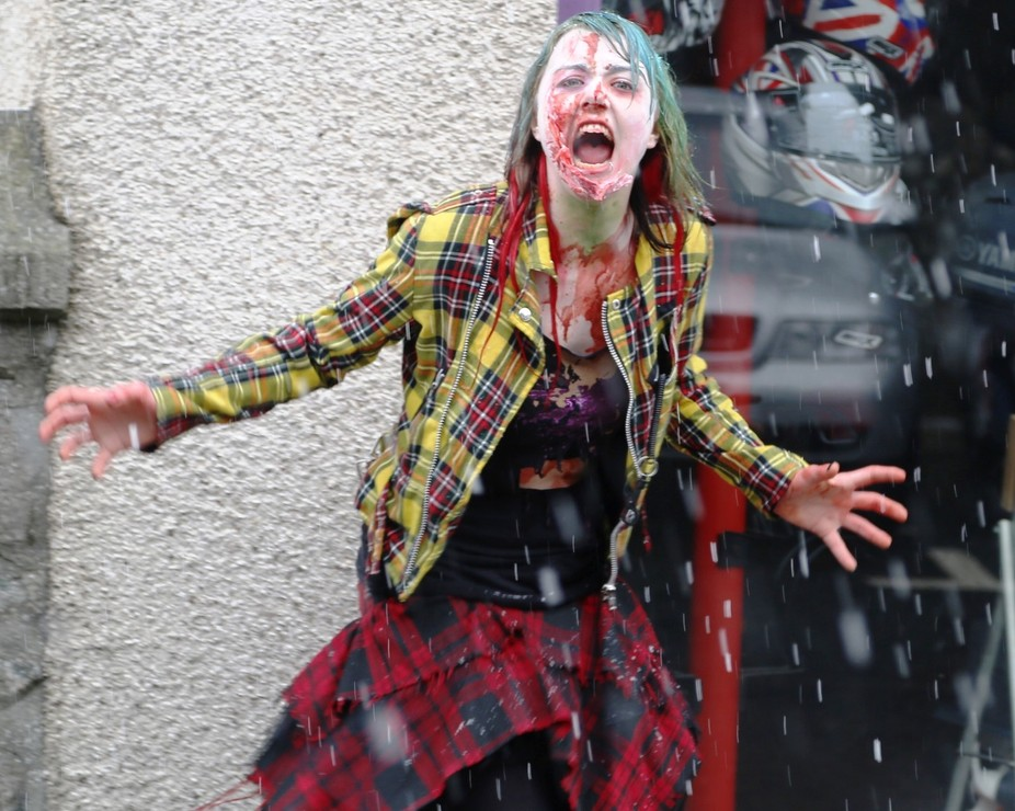 Shetland Annual Zombie fest can be found on facebook :)