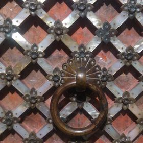 Gujarat Mother of Pearl Door