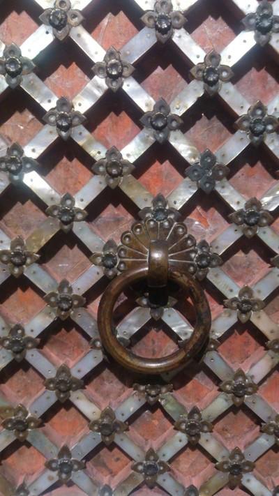 Gujarat Mother of Pearl Door