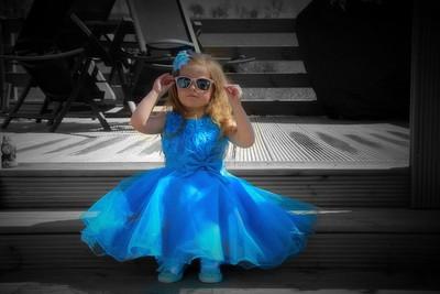 Cinderella with shades on