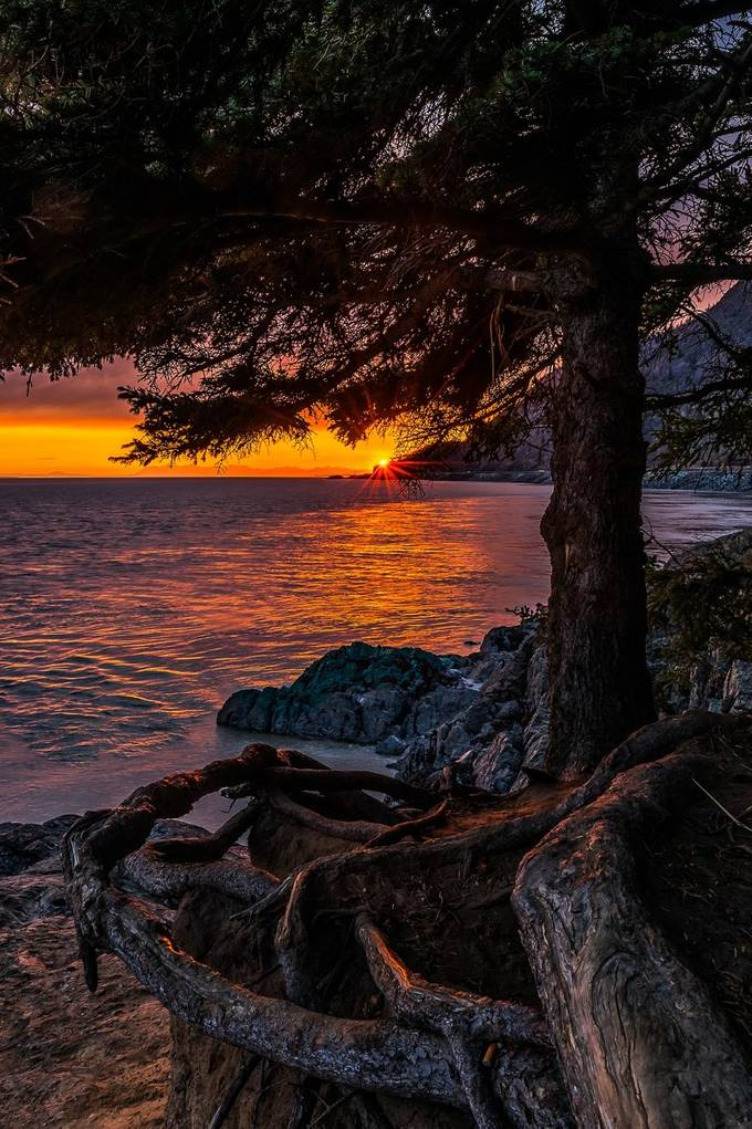 Sunset Beluga Point by jeffehlers - Nature In HDR Photo Contest