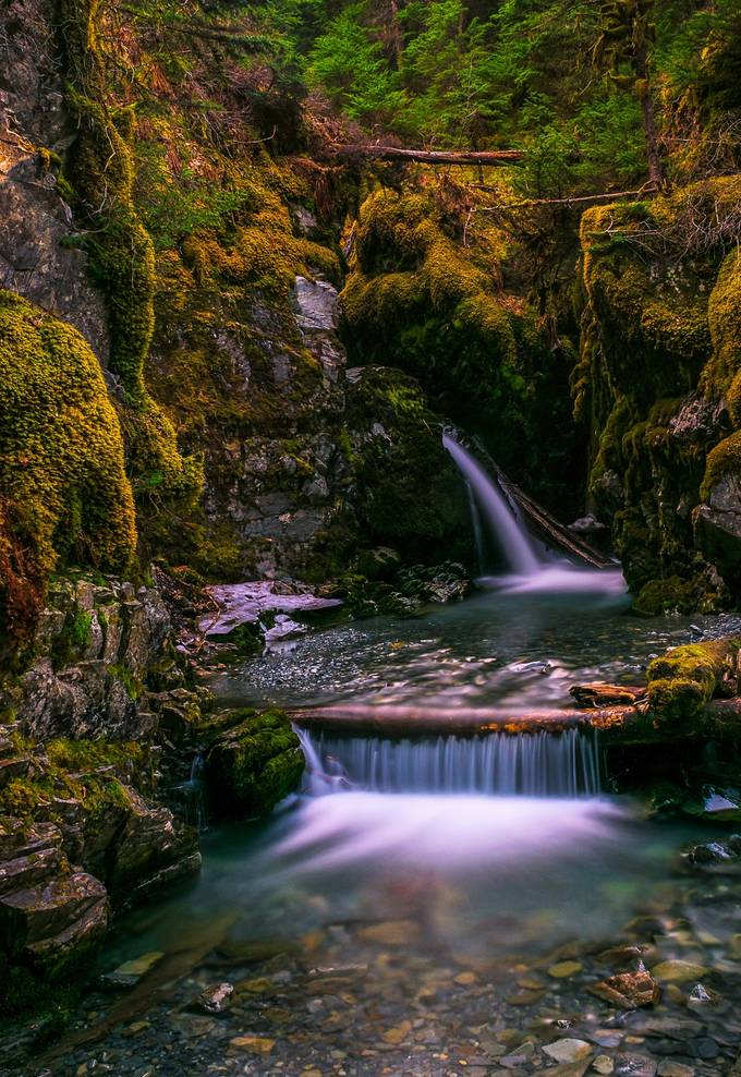Virgin Creek Falls by jeffehlers - Alluring Landscapes Photo Contest