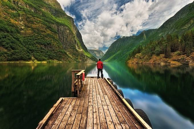 Gudvangen... by kbrowko - People In Large Areas Photo Contest
