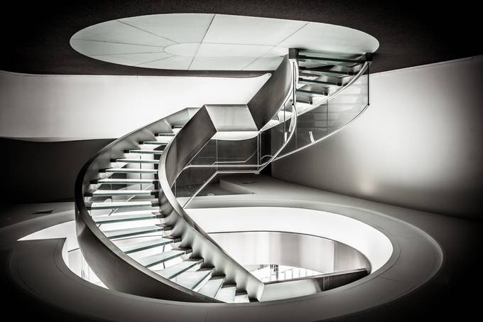 Stairway to Heaven. by AntonioBernardino - Composing with Curves Photo Contest