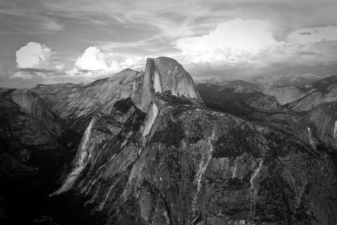 Half Dome by alipeck7 - Landscapes In Black And White Photo Contest