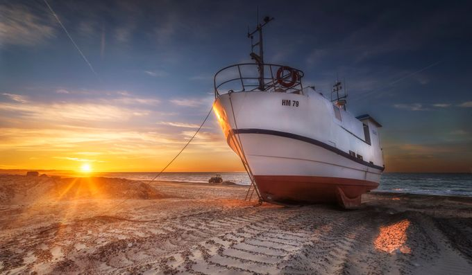 Thorup Strand by olesteffensen - Sun Flares Photo Contest