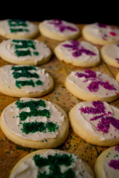 Colourful Sugar Cookie Fun