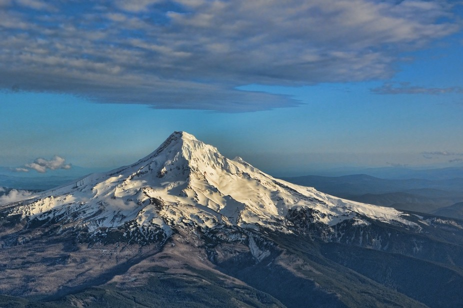Mt. Hood, Oregon on March 26 2015 with very little snow.