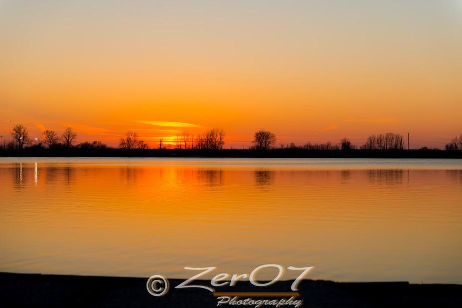 Sunset on Creve Coeur Lake