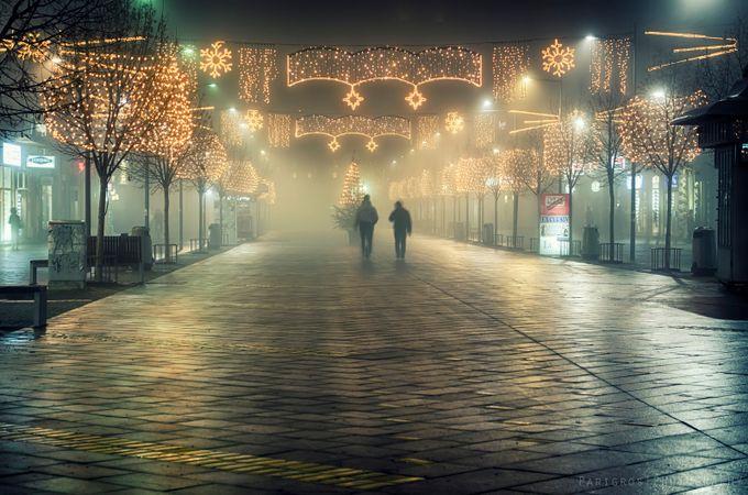 Xmas night by gabrijelaparigros - Holiday Lights Photo Contest 2017