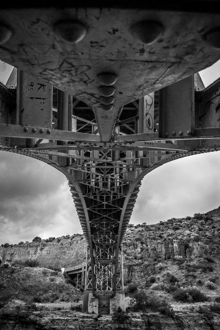 Bridging The Gap by AJRingstrom - Under The Bridge Photo Contest