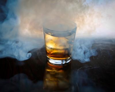 The Smoking Gun cocktail