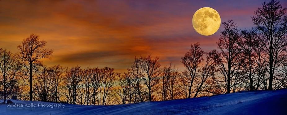 Winter Harvest Moon