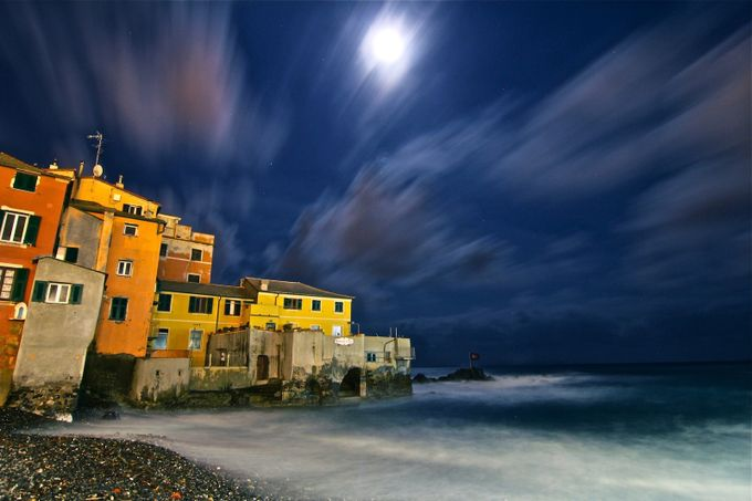 Italy, Genova by felicebellini - Cloudy Nights Photo Contest