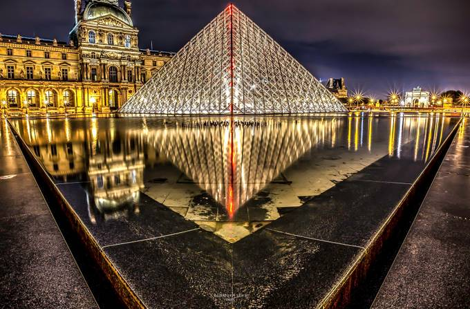 LE LOUVRE by Prive - Diagonals And Composition Photo Contest