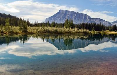 Mount Rundle & Cascade Ponds