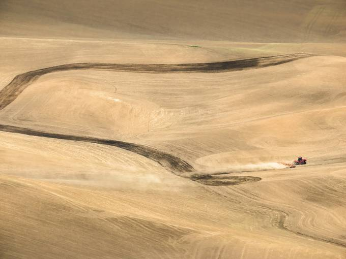 Palouse Prairie Plowing by GeoffColeImages - Dry Fields Photo Contest