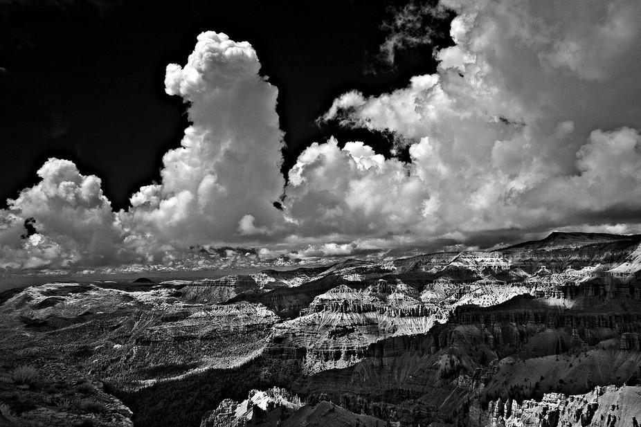 Photograph taken with my Infrared Camera at Cedar Breaks, Utah