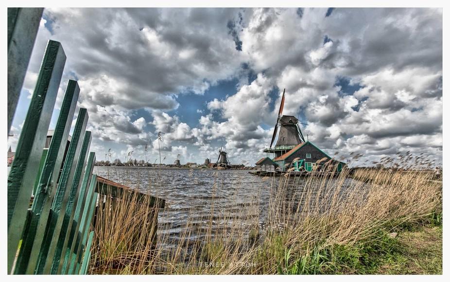 Zaanse Schans the oldest windmills in Holland