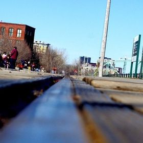 Put my camera on the tracks at the famous Montreal Atwater Market one spring afternoon. This is what turned out. Only one touch up was dust tat w...