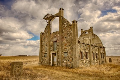 Frank Schott stone barn