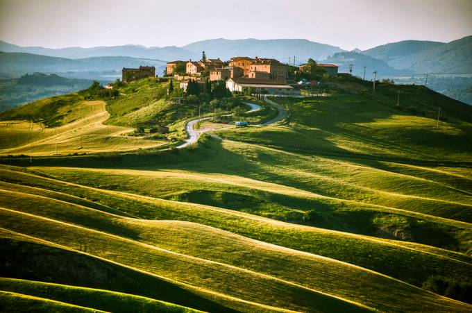 village in the evening sun by Wilfried - Photogenic Villages Photo Contest