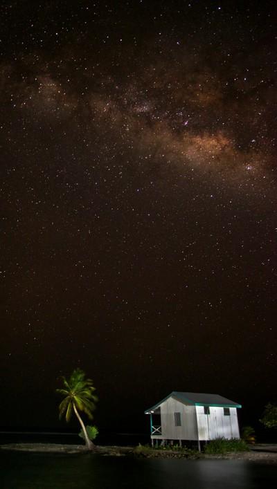 Milky Way Above Belize