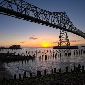 n a visit to Astoria Oregon, I had a hotel right on the Columbia River waterfront. The views from our room were great, but I stepped outside to c...