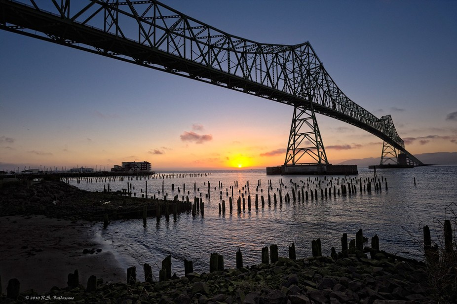 n a visit to Astoria Oregon, I had a hotel right on the Columbia River waterfront. The views from...