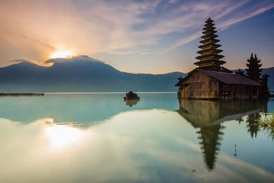 Beautiful Lake in Serenity