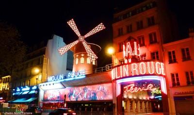 Moulin Rouge - Place Blanche - Paris - France