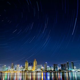 I was told you can't get star trails over the San Diego skyline one time. I wanted to prove them wrong. I did.