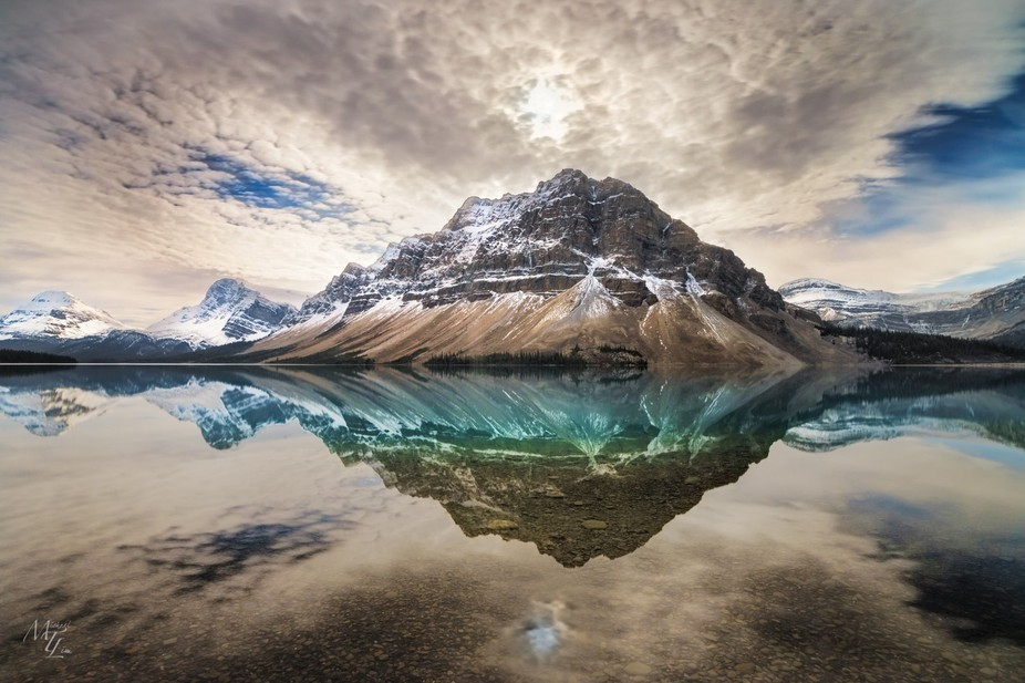 Bow Lake with Crowfoot Mountain behind it is one my favorite locations in Banff National Park alo...