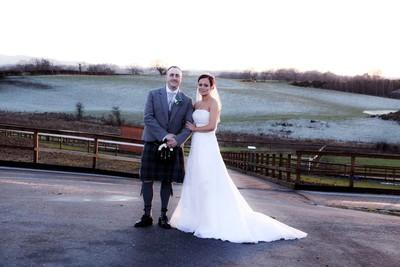 wedding at Ingliston Country Club