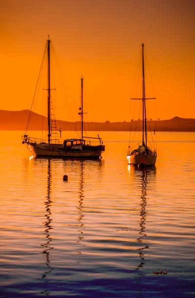 Deborah Bay sunrise