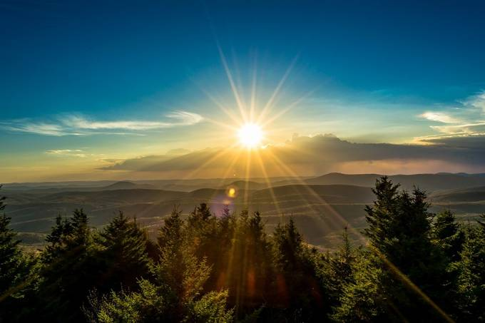 Sunset in West Virginia by JeremyMcG - Sun Flares Photo Contest