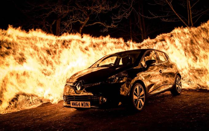 Clio on Fire by danielcook - Dark And Bright Photo Contest