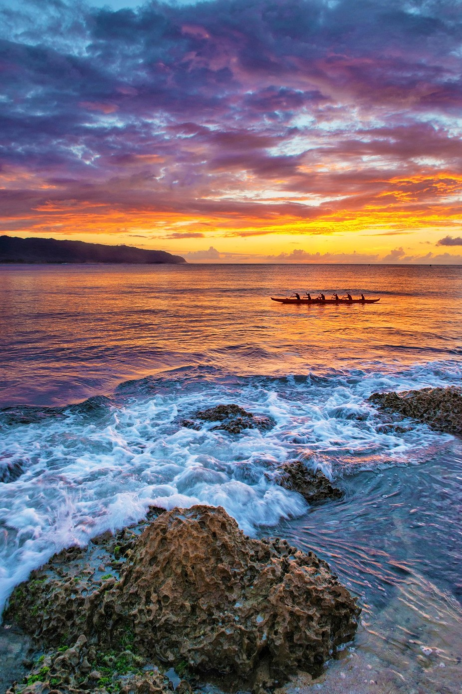 Outrigger by fidfoto - People In Large Areas Photo Contest
