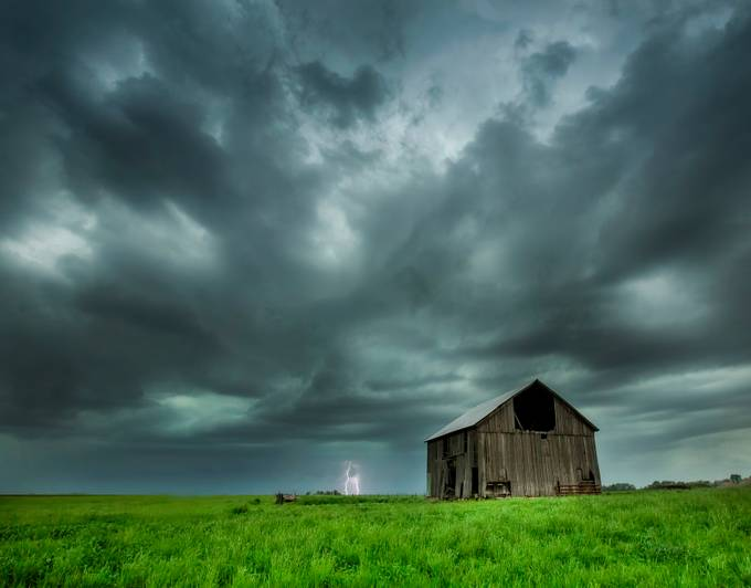 In The Distance by bmackenziephotography - 500 Stormy Clouds Photo Contest