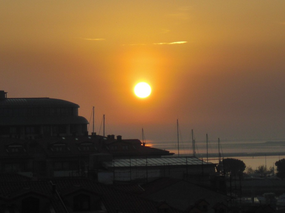 This was taken from a roof top over looking the sea in Grado, Italy. 2011. I have been sorting th...
